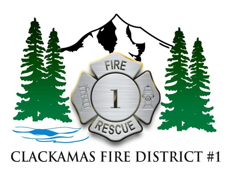 COURTESY PHOTO - Leaders from Clackamas fire discussed the recent wildfires at a meeting of the Estacada Chamber of Commerce last week.