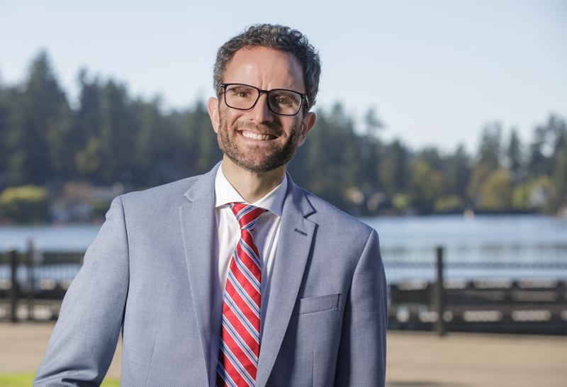 PMG PHOTO: JONATHAN HOUSE - Joe Buck is running for mayor of Lake Oswego.