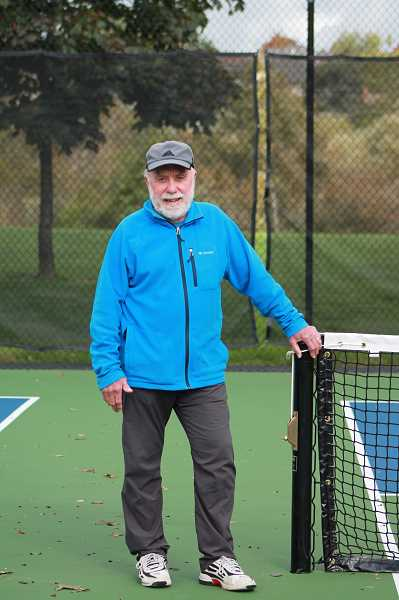 PMG PHOTO - Tom Meier, local pickel ball advocate is running for West Linn City Council.