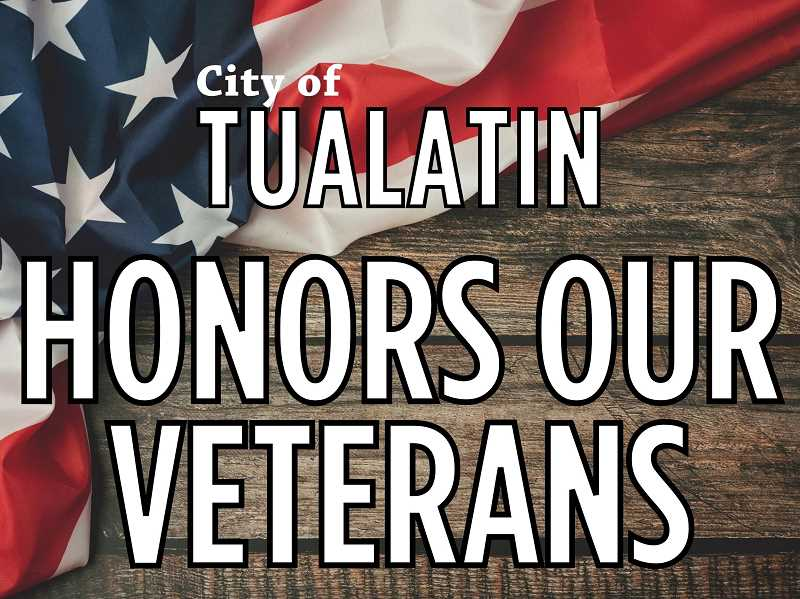 COURTESY PHOTO: CITY OF TUALATIN - Yard signs honoring Tualatin veterans can be picked up or delivered by the city.
