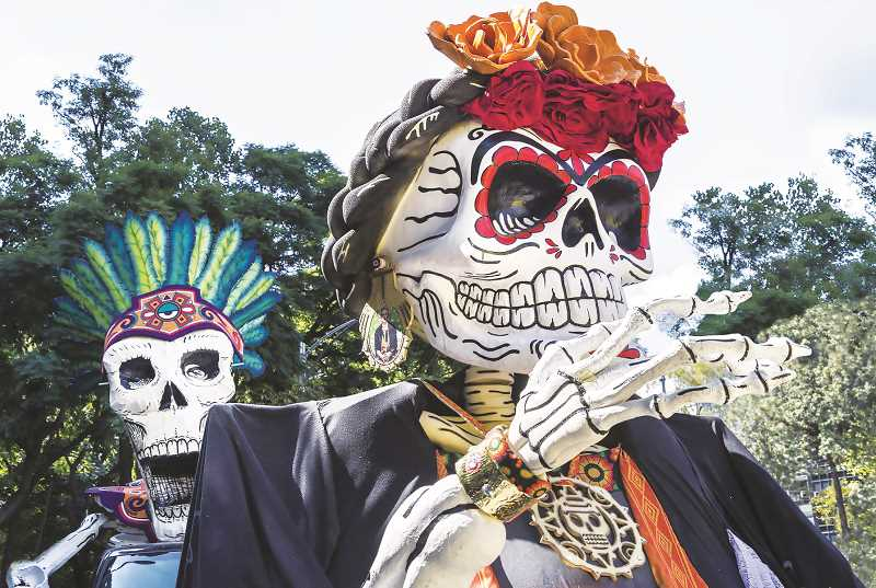 PMG FILE PHOTO - The Chehalem Cultural Center will host a Dia De Los Muertes event that kicks off Nov. 2 and continues through Nov. 7.