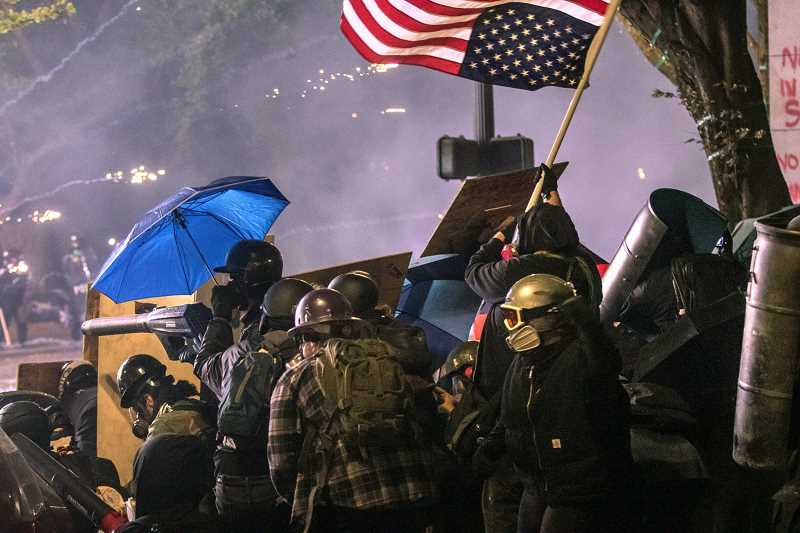 'Highly toxic' smoke grenades deployed at Portland protests