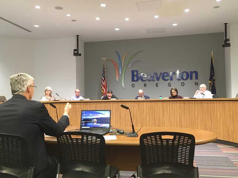 PMG FILE PHOTO - The Beaverton City Council will discuss compensation for the mayor position under the new city charter on Tuesday, Oct. 20.