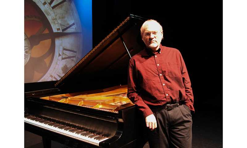SUBMITTED PHOTO BY JAYMIE STARR - Eugene pianist, composer and storyteller David Nevue will perform Sunday, Nov. 1 at Metolius Friends Community Church.