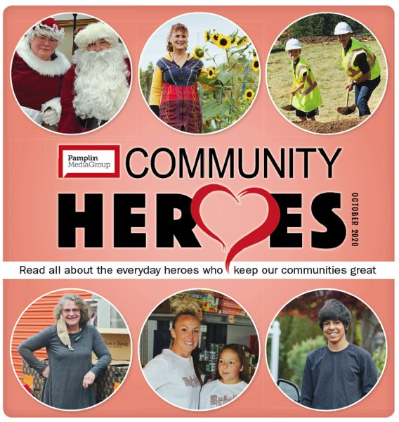 (Image is Clickable Link) Pamplin Heroes 2020 Magazine