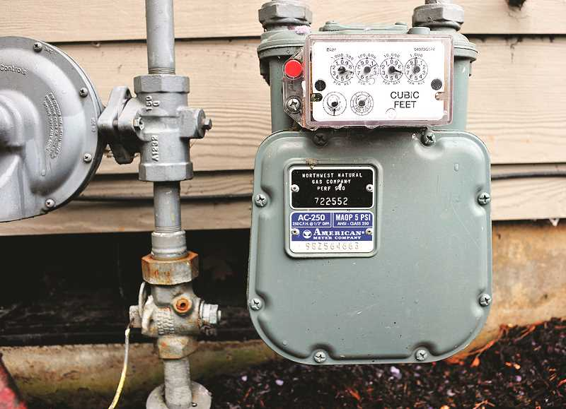 PMG FILE PHOTO - The Oregon Public Utility Commission recently approved a rate decrease in the wholesale price of natural gas, and a rate increase in the price for consumers as part of an annual rate revision and Corporate Activity Tax.