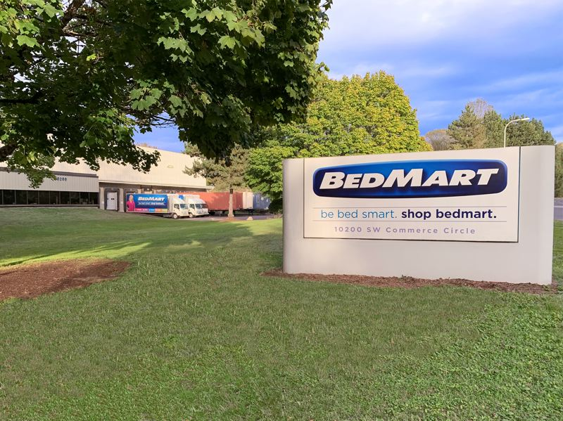 COURTESY PHOTO - BedMart has a warehouse and office space in Wilsonville.