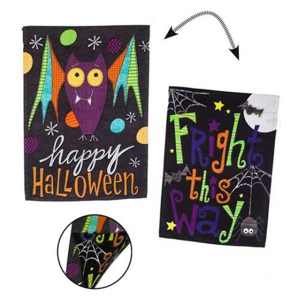(Image is Clickable Link) Halloween banners from Elmer's Flag & Banner