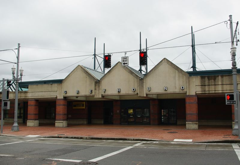 CONTRIBUTED - The former Greyhound Bus Station in Old Town.