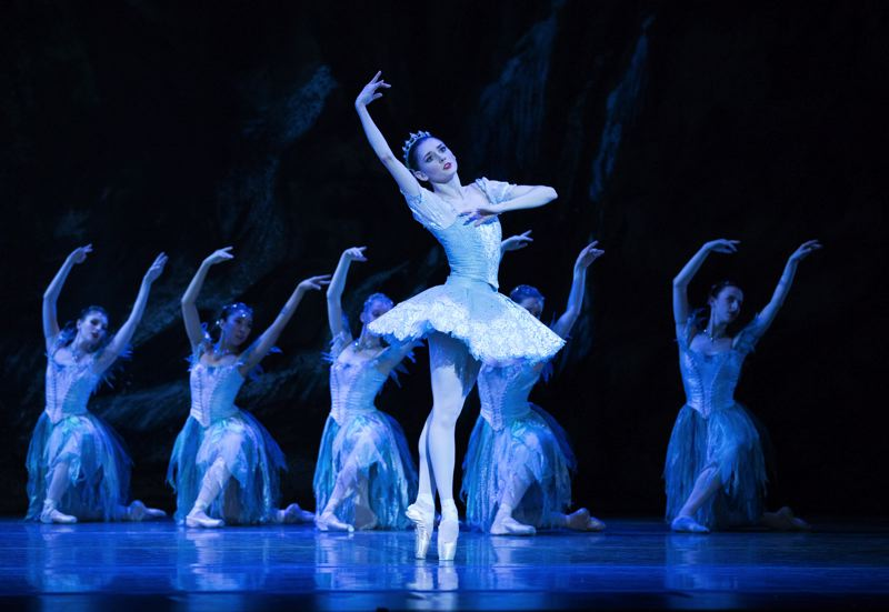 COURTESY PHOTO: BLAINE TRUITT COVERT - Eva Burton starred as Princess Aurora in Oregon Ballet Theatre's 'Sleeping Beauty,' staged earlier this year. She's been promoted to principal dancer.