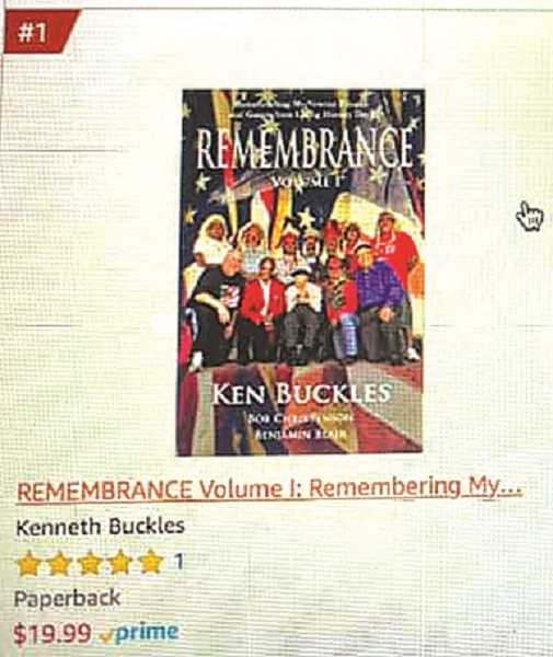 Canby's Ken Buckles has a new book out and will be at Cutforth's Thriftway on Nov. 7 for a book signing event.