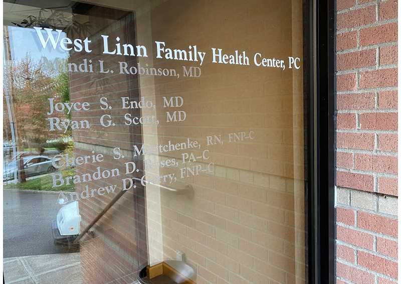 PMG PHOTO - West Linn Family Health Center is named as one of defendants in the lawsuit regarding sexual abuse by Farley.