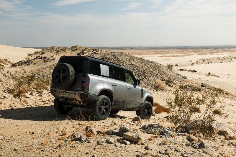COURTESY LAND ROVER/HAVAS FORMULA - The 2020 Land Rover Defender 100 has retro styling but modern engineering and features.