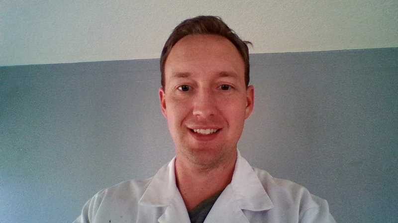 COURTESY PHOTO: DR. CAMERON KLUG - Dr. Cameron Klug works as an emergency room physician and medical director at Legacy Meridian Park Hospital in Tualatin. Klug has treated COVID-19 patients since last spring.
