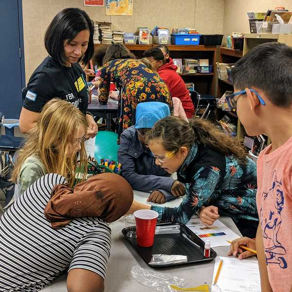 COURTESY PHOTO: IN4ALL - In4All brings local businesses and schools together to provide hands-on learning experiences for students who are historically underserved. For example, students at Beaver Acres Elementary in Aloha get to interact with companies such as IBM.