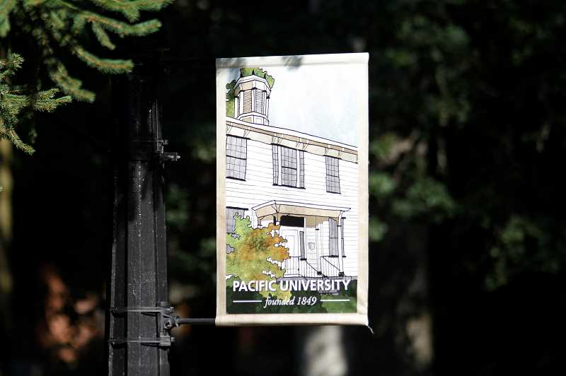 PMG PHOTO: WADE EVANSON - The Pacific University campus in Forest Grove has been on shaky ground for weeks due to student and faculty unrest.
