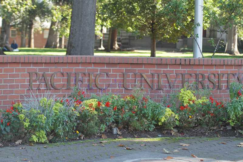PMG PHOTO: WADE EVANSON - Pacific University in Forest Grove, Oregon.