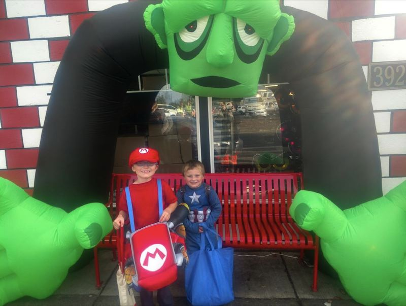 COURTESY PHOTO - Monica Butler plans to host a candy hunt for her grandsons Aden Doherty and Matthew Bendel Jr. (pictured) to avoid risks from the COVID-19 pandemic.