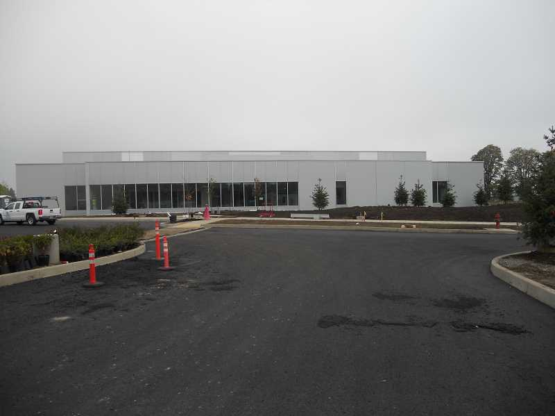 SCOTT KEITH - Construction at OMIC Training Center in Scappoose