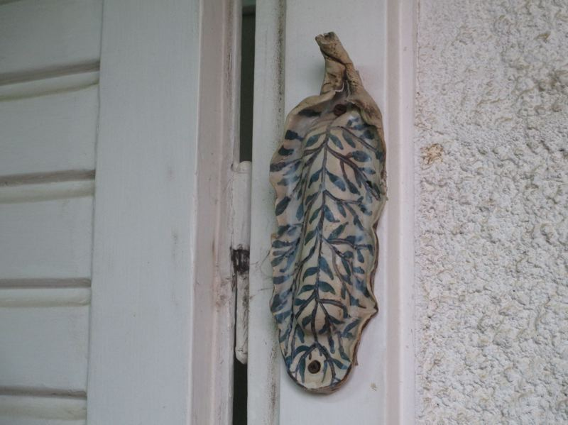 COURTESY PHOTO: AVISHAI TEICHER FOR WIKIMEDIA COMMONS - A mezuzah is a parchment inscribed with religions text encased in a marker and attached to the door frame of a Jewish home as a sign of faith. They come in a variety of cylindrical shapes and designs.