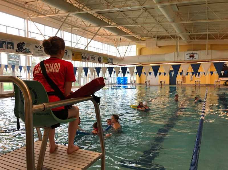 COURTESY PHOTO - Molalla Aquatic Center opens Monday, Nov. 2, for lap swim, water fitness classes, tot time and family swim. Reservations are required for all.