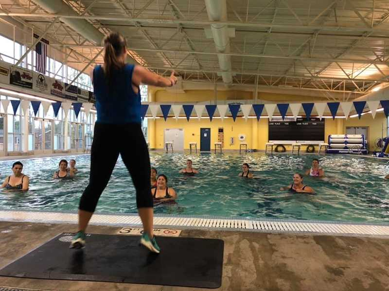 COURTESY PHOTO - The water fitness classes available include Hydrocise Plus with Jolene, Arthritis with Cindy, Deep Water with Cindy and Aqua ZUMBA with Rebecca.