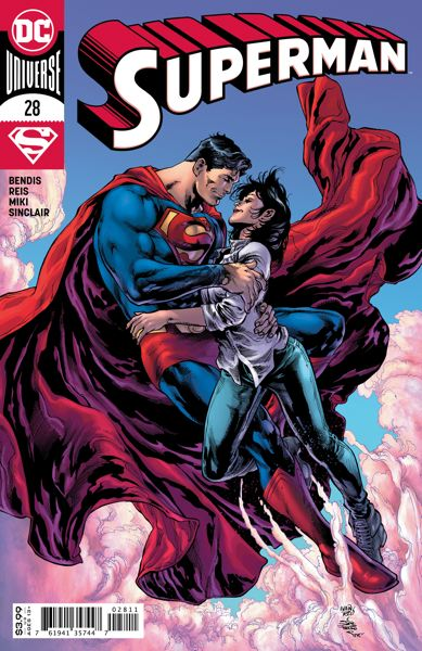 COURTESY PHOTO: BRIAN MICHAEL BENDIS - Brian Michael Bendis' run as 'Superman' series writer comes to an end in December, but he'll still be doing some projects with The Man of Steel.