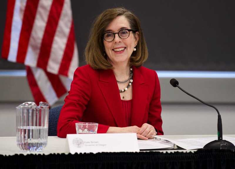 PMG FILE PHOTO - Gov. Kate Brown