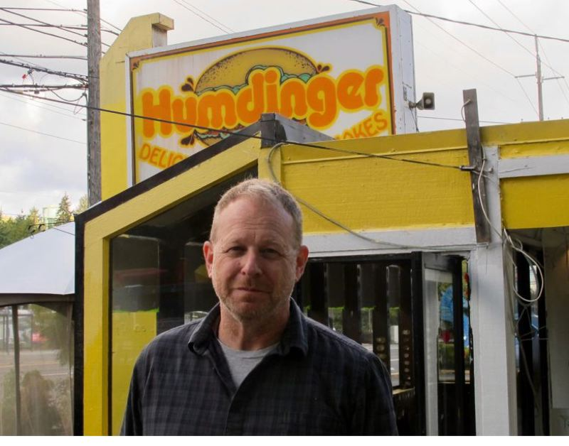 PMG FILE PHOTO - Pok Pok owner Andy Ricker in better times when he was planning to turn the old Humdinger Drive-In into a Pok Pok Wing. Ricker just announced Pok Pok will not reopen after the pandemic.