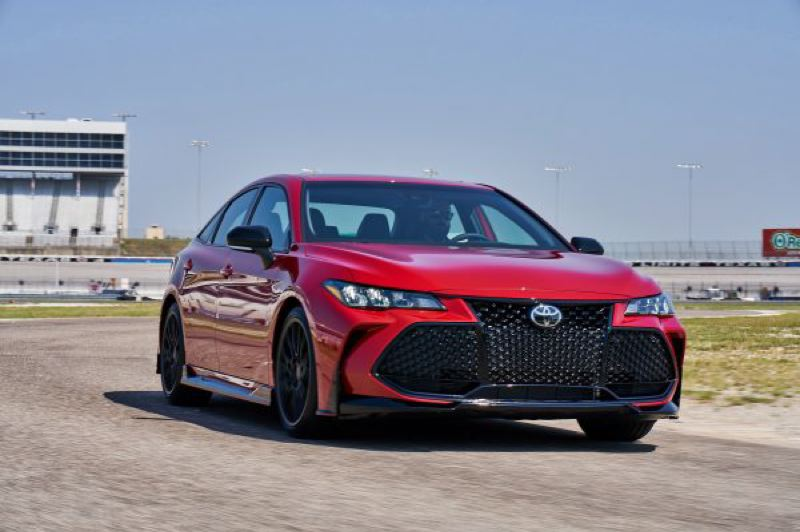 COURTESY TOYOTA - The Toyota Racing Development upgrades on the 2020 Avalon TRD improve handling without compromising the ride quality.