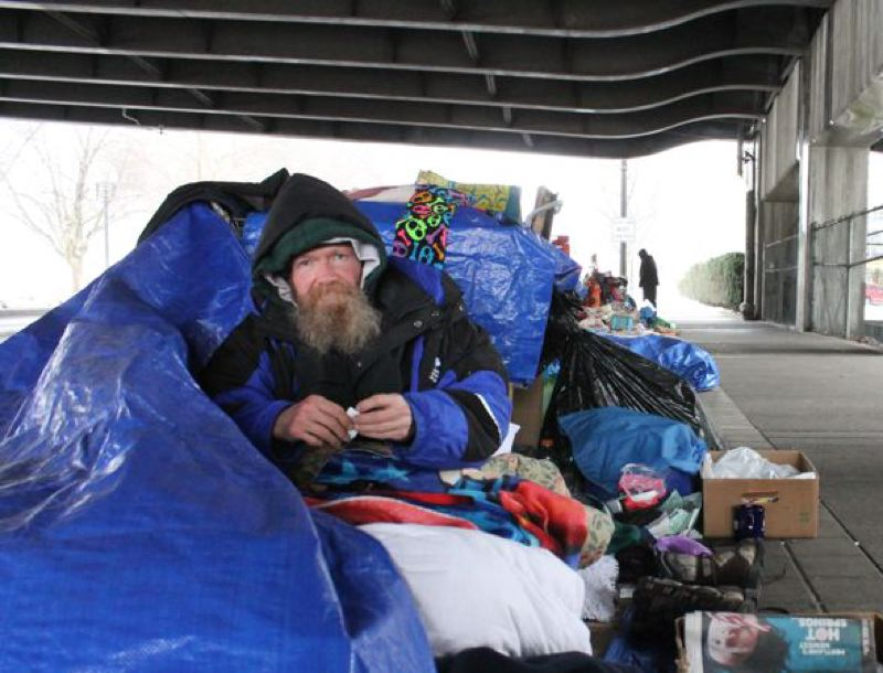 PMG FILE PHOTO - City and county officials are searching for more homeless shelter space as winter approaches.