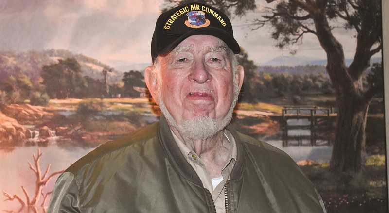 RAMONA MCCALLISTER - Prineville's Donald Tuter served in the U.S. Army infantry and U.S. Air Force from 1953-1960.