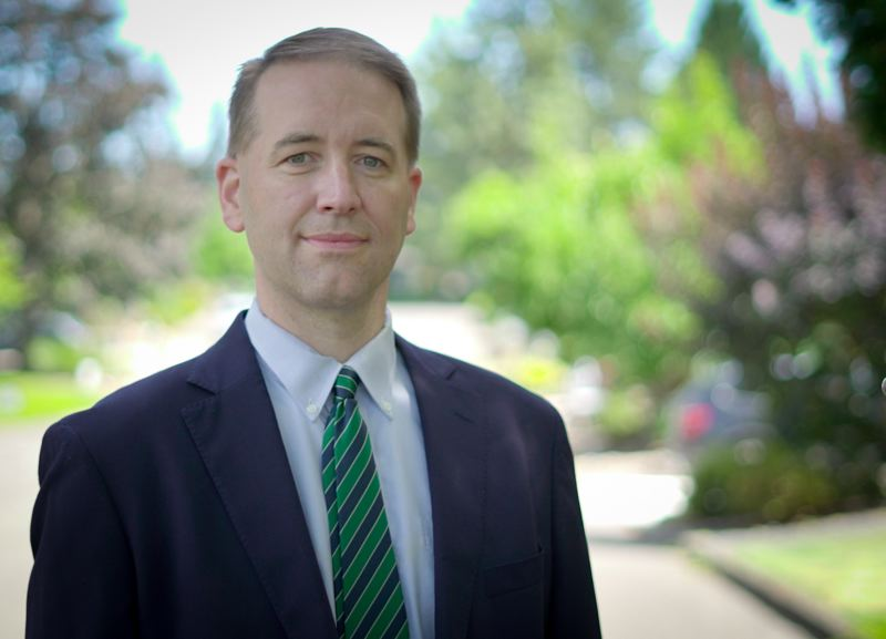 COURTESY PHOTO - Tobias Read is the Oregon state treasurer. If reelected as treasurer, he says he'll stay focused on improving the state for the long run