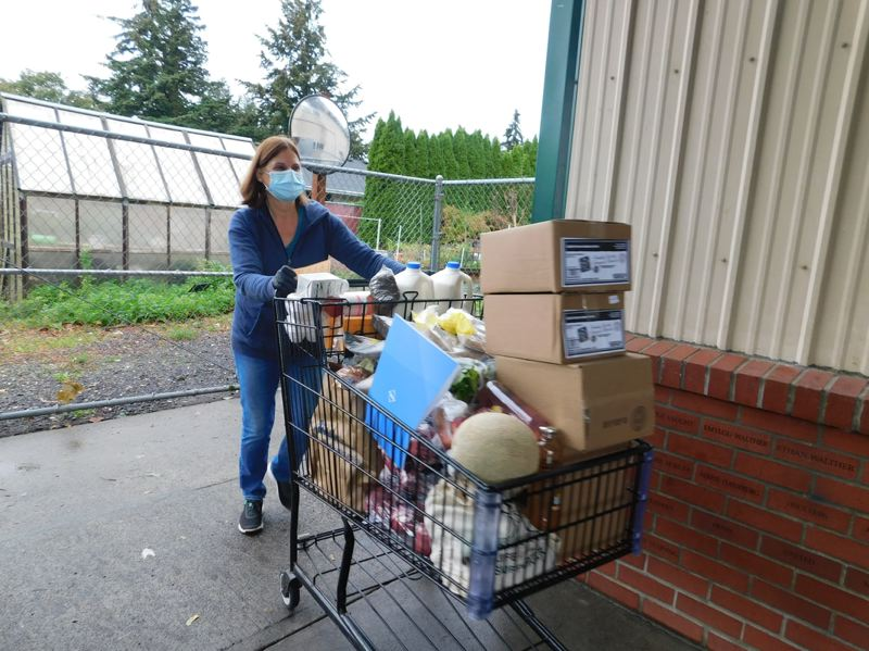 COURTESY PHOTO: SNOWCAP - SnowCap Community Charities, 17805 S.E. Stark St., provides food and hygiene products to  people living on a low income in East Multnomah County.