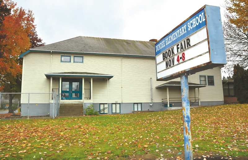 PMG FILE PHOTO - Construction of a new Dundee Elementary School is included in the school bond passed by voters last week.