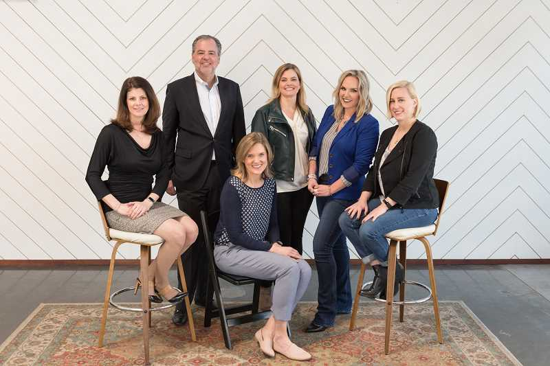COURTESY PHOTO: BREAKAWAY BOOKKEEPING & ADVISING - Founding advisors for Breakaway Bookkeeping & Advising include, from left, Sabrina Snow, Martin Moll, Shauna Zobrist, Kristen Keats, Michelle Lopez and Shea Keats.