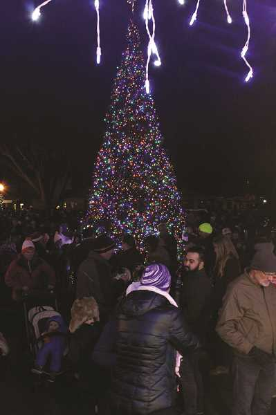 PMG PHOTO: KRISTEN WOHLERS - Nominees are now being sought for someone who 'lights up Canby' to have the honor of flipping the switch on the city's lighting event in December.
