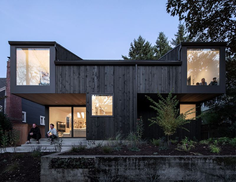 COURTESY: AIA OREGON - The Lee family House on 36th (Avenue) in Portland, by Beebe Skidmore Architects