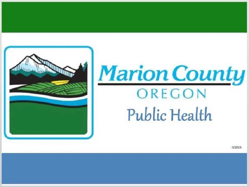 COURTESY OF MARION COUNTY - Marion County Public Health logo, Woodburn Independent - News