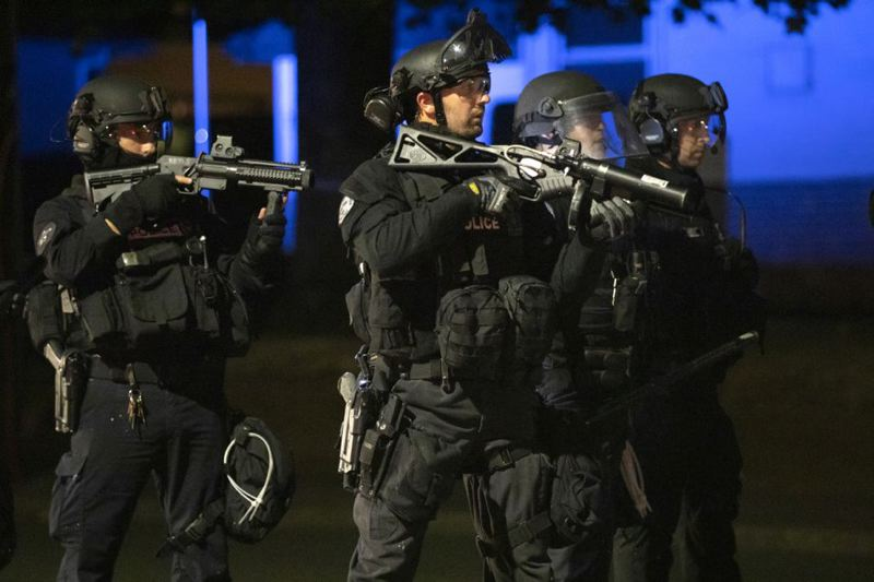 PMG FILE PHOTO - Portland police are no longer under the command of the Oregon State Police and Multnomah County Sheriffs Office.