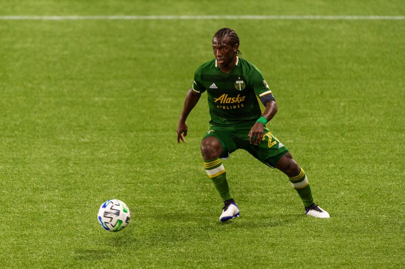 PMG PHOTO: DIEGO G. DIAZ - The most valuable Timbers player, Diego Chara's constant presence in midfield was vital to Portland placing near the top of the Western Conference despite key injuries.
