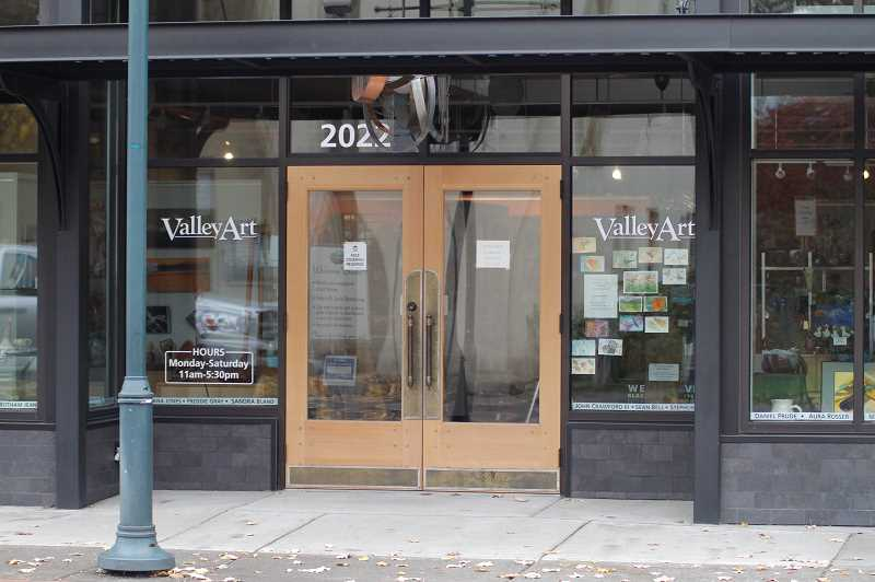 PMG PHOTO: WADE EVANSON - Valley Art in Forest Grove has been celebrating local art for more than 50 years.