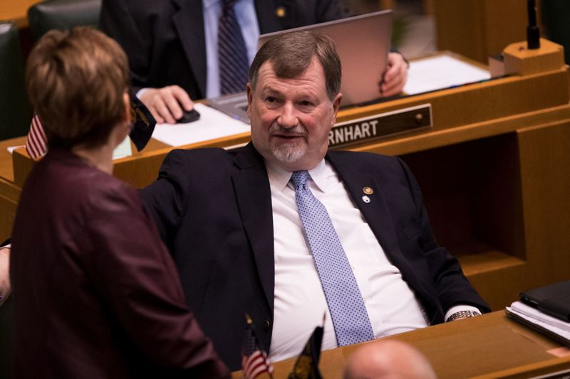 PMG FILE PHOTO - State Rep. Brad Witt, D-Clatskanie, won re-election by a hair while losing badly in his home county to Columbia City Republican Brian G. Stout.