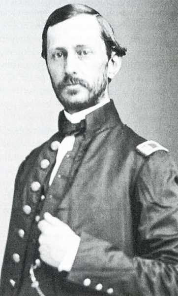 PHOTO COURTESY OF BOWMAN MUSEUM  - Lt. Robert S. Williamson, shown in 1857, led an expedition into Central Oregon in 1855.