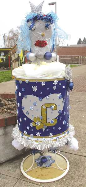 PMG PHOTO: DEBORAH GUINTHER - Get those ideas ready for this year's Snowman Contest in Canby.