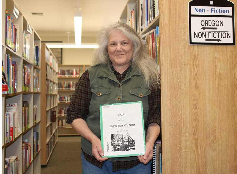 HOLLY SCHOLZ/MADRAS PIONEER  - Jackie May began working at the Jefferson County Library in 1995. She became the Oregon history librarian and also worked in technical services, cataloging and interlibrary loans. She retires at the end of November.