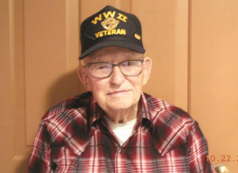 SUBMITTED PHOTO - World War II veteran Loyal Miller will be among the veterans honored Wednesday.