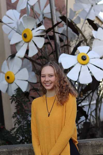 COURTESY PHOTO: CAITLIN ANDERSON - Caitlin Anderson, 18, has been working toward earning the highest award offered by the Girl Scouts, the Gold Award. Anderson developed a program that would provide an ongoing source of needed personal hygiene products and sock donations for Washington Countys Project Homeless Connect.