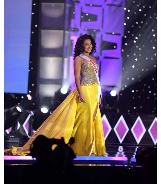COURTESY PHOTO - Shayla Montgomery represents Oregon at the 2020 Miss Teen USA pageant.