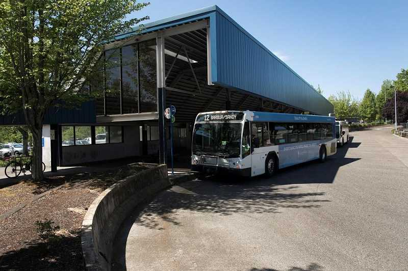 PMG PHOTO - The Barbur Transit Center would be reconfigured if a light rail line is ever built in Southwest Portland and Tigard., Southwest Community Connection - Opinion Public transit advocate questions proposal being considered for potential SW MAX line Should park-and-ride structures and lots along a light rail line charge a fee?